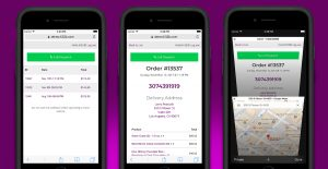 H32B - Dispensary Delivery Driver WooCommerce Plugin - Marijuana Delivery Dispensary Mobile Views