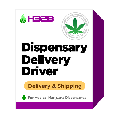 H32B Medical Marijuana Dispensary WooCommerce Plugin - Marijuana Dispensary Delivery Driver